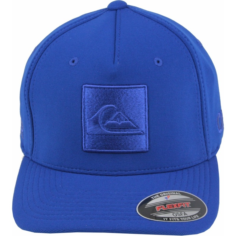 8dd6467efc111 Boné Quiksilver Hard Hitter New Technique Flexfit Royal Blue - R ...