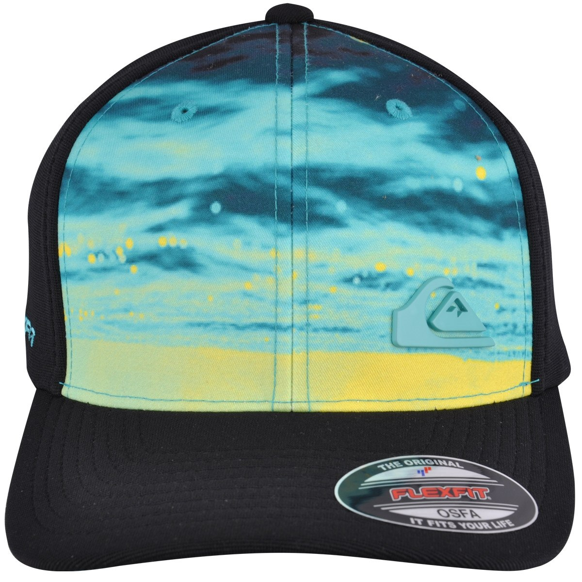 Boné Quiksilver How Down Preto - Cut Wave - R  129,90 em Mercado Livre 16ab60c677
