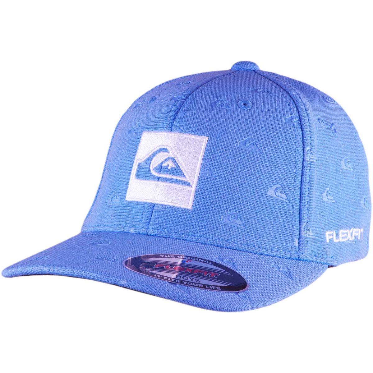 67bf088b8c9f9 Boné Quiksilver Juvenil All Over Qlogo Azul