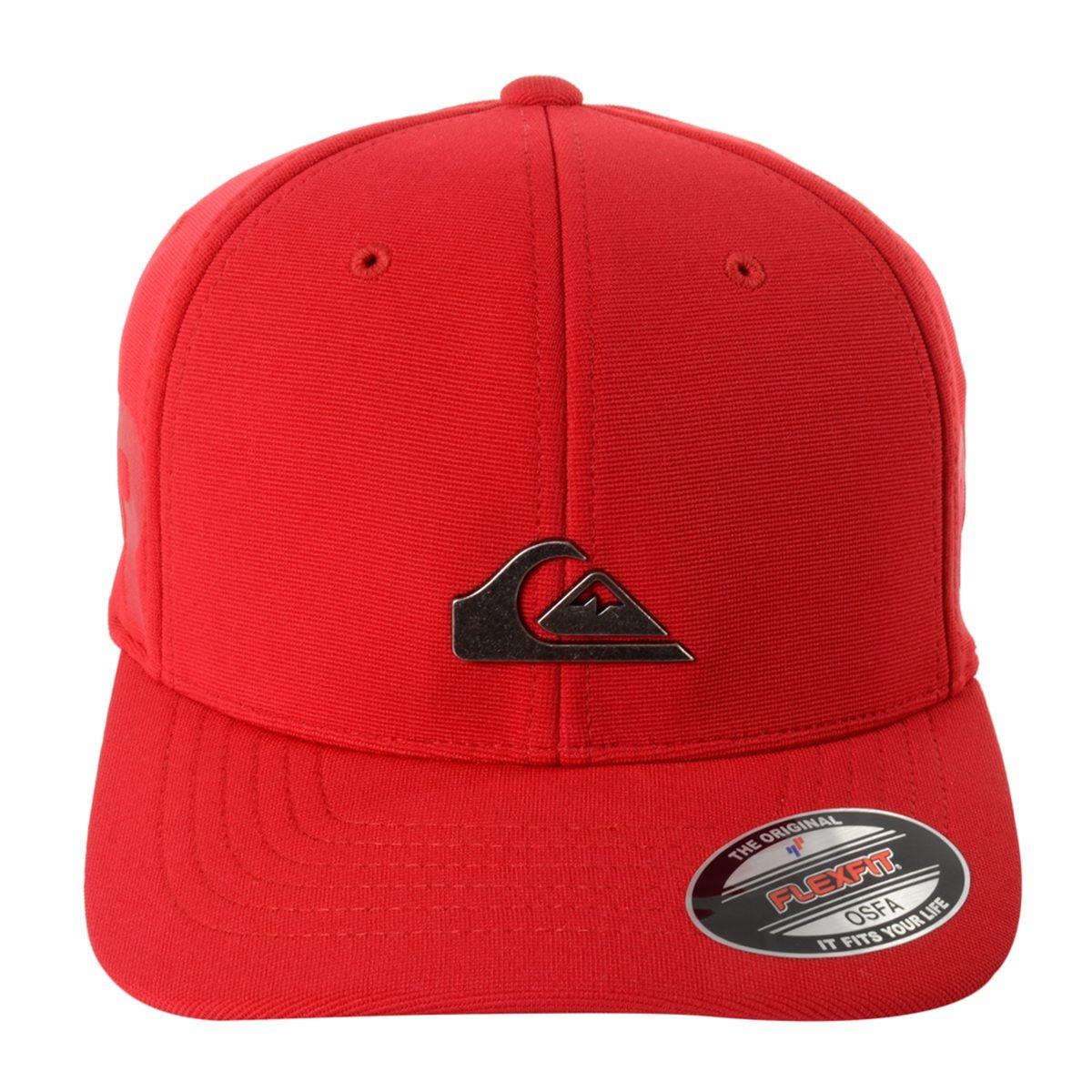 ad461f258e59a Boné quiksilver metal patch cor vermelho Único jpg 1200x1200 Quiksilver  metal