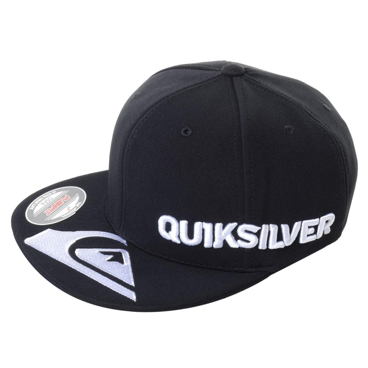 boné quiksilver peak emb - cor  preto - único. Carregando zoom. 24e6d54cafd