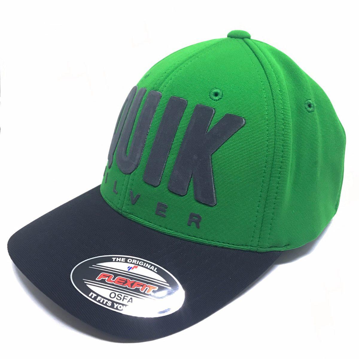 Boné Quiksilver Quik Flocking - 78.80.2570 Verde preto - R  249,00 ... a9d2f7536d
