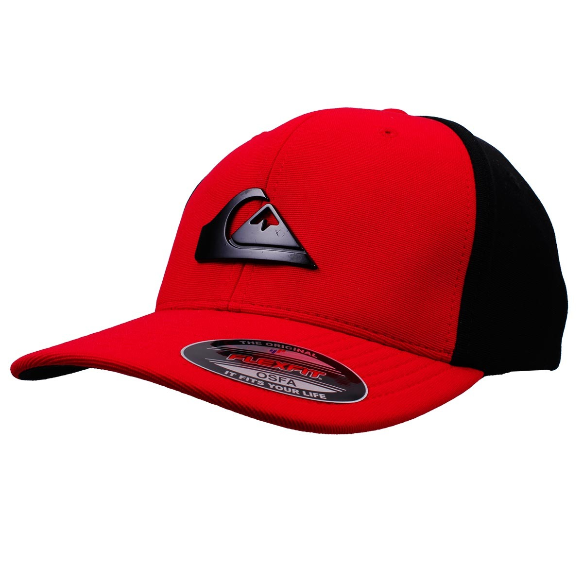 boné quiksilver solid cap vermelho preto. Carregando zoom. ec18b020896