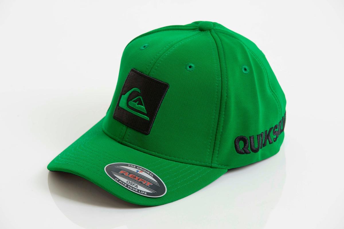 boné quiksilver top hard hitter verde flexfit frete grátis. Carregando zoom. 064e4cf9dc7