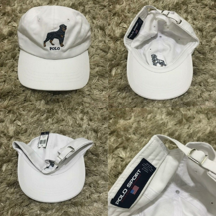 2f69133981325 Boné Polo Sport Ralph Lauren Dog Original - R  249