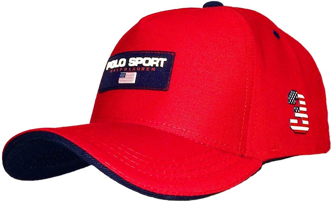 4be5b263e2f2b bone ralph lauren logo polo sport 3 vermelho brl15. Carregando zoom.