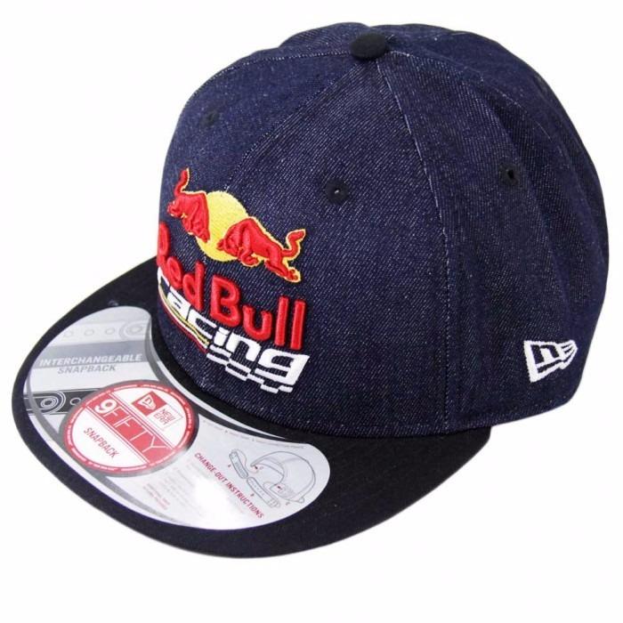 01fddcdeb5941 Bone Rbr Red Bull Jeans Snapback Aba Reta 9fift - R  100