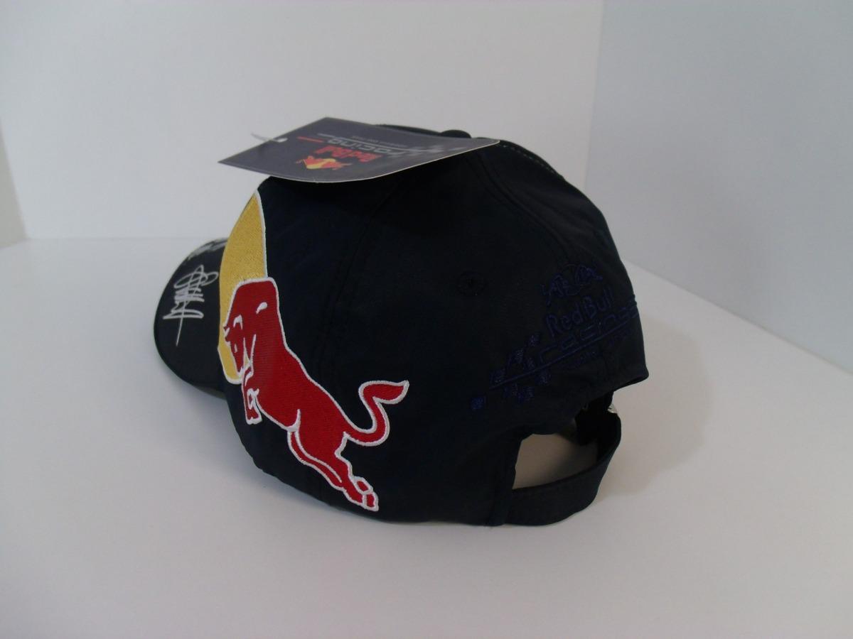 5ce0d22912f64 Boné Rbr F1 - Red Bull - Sebastian Vettel 2010 - Gr Minicars - R ...