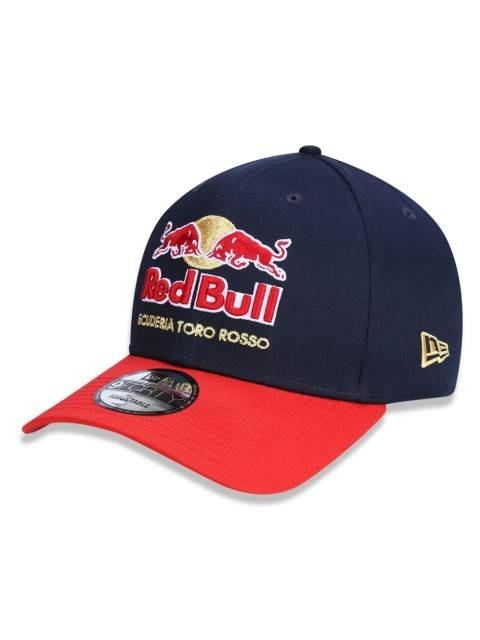 1aaa7ebeef499 Boné Aba Curva Red Bull Scuderia Toro Rosso New Era - R  89