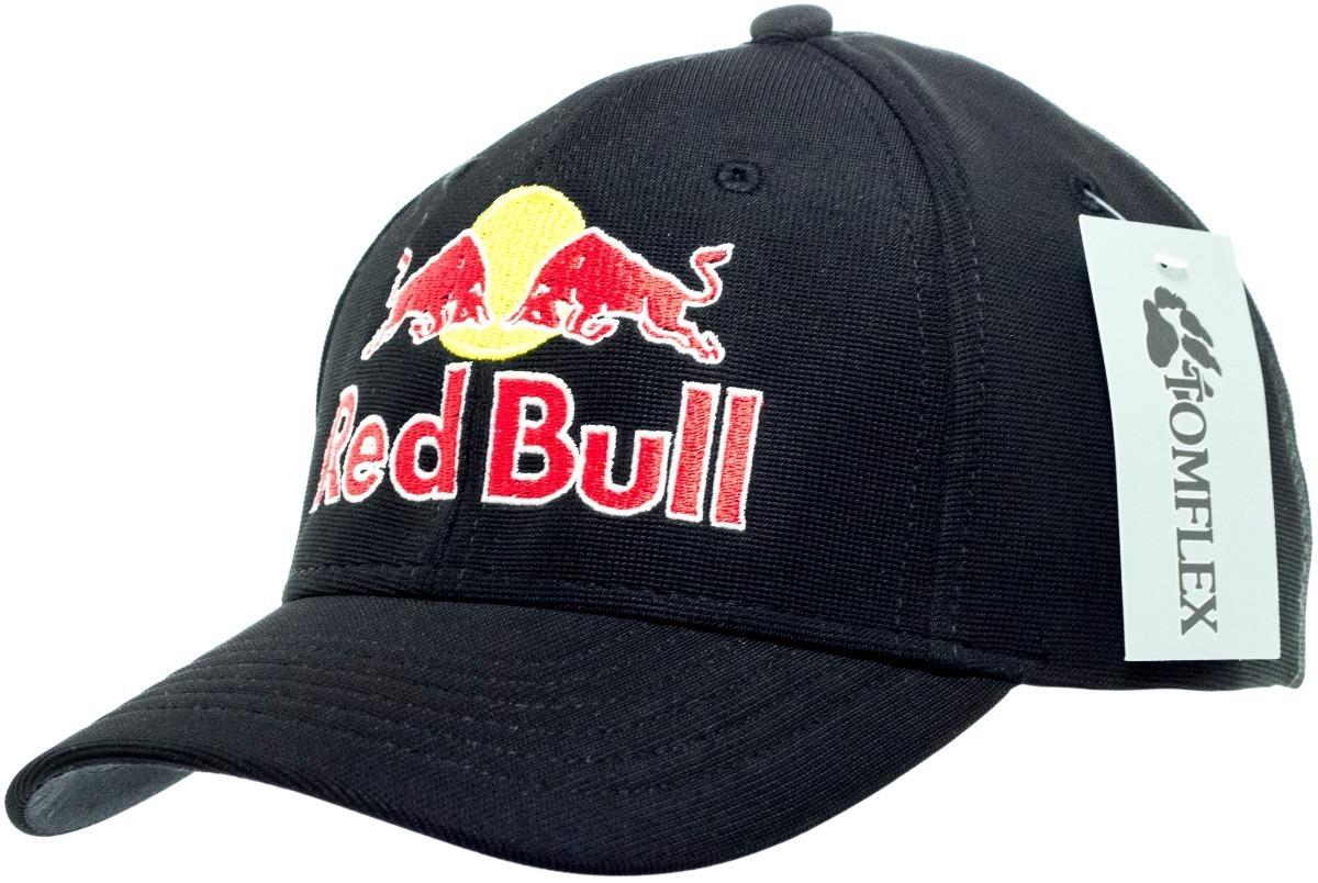 boné red bull aberto original tomflex preto. Carregando zoom. 144e3f57b38