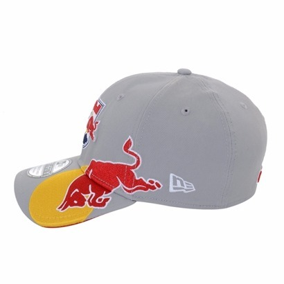 dd79bb22eaa0f Bone Red Bull New Era Brasil Cinza - R  149