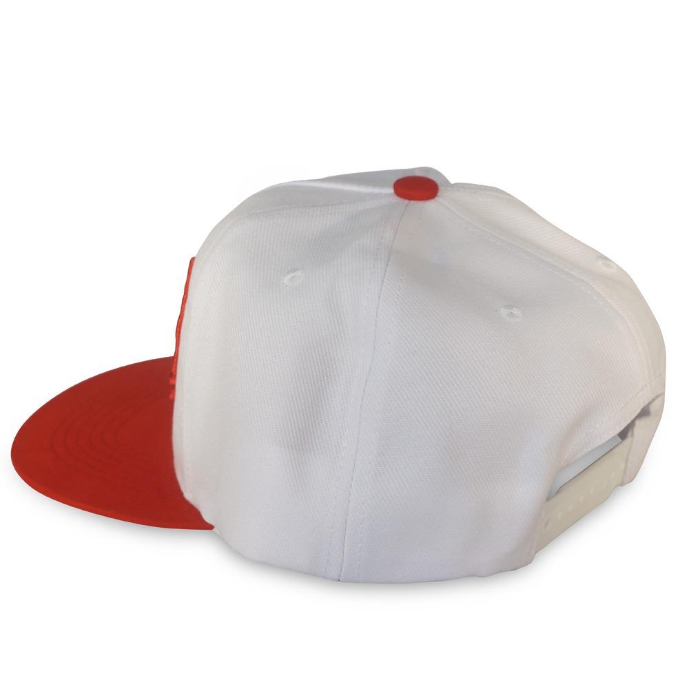 boné red nose snapback ajustável branco e vermelho. Carregando zoom. 6fa733b69ef