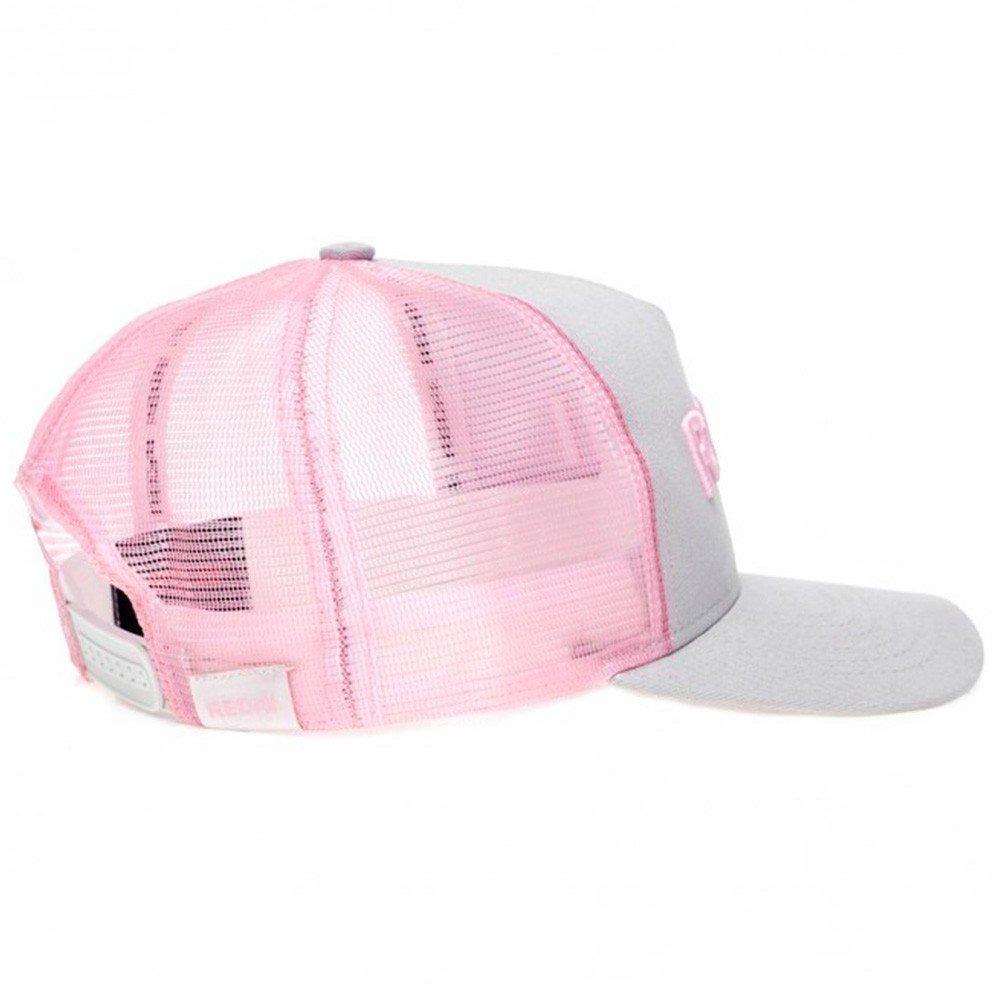 boné redai feminino cinza rosa p  pesca ajustável poliéster. Carregando  zoom. ff9387b3e4e