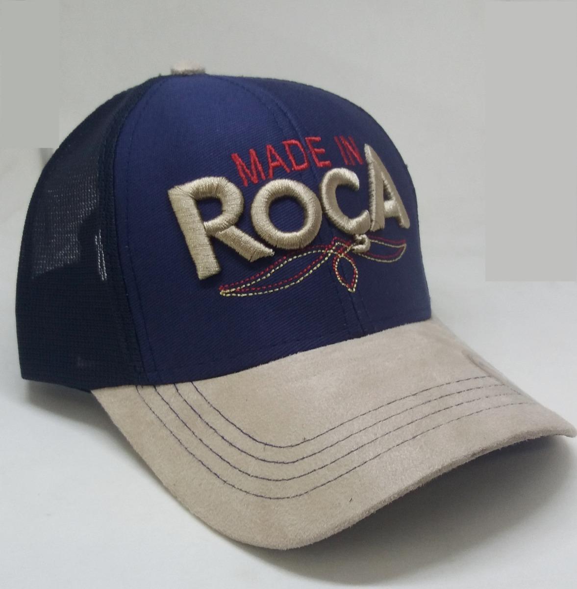 Bone Rodeio Azul Bordado Country Trucker Made In Roça - R  35 5eec8e17a00
