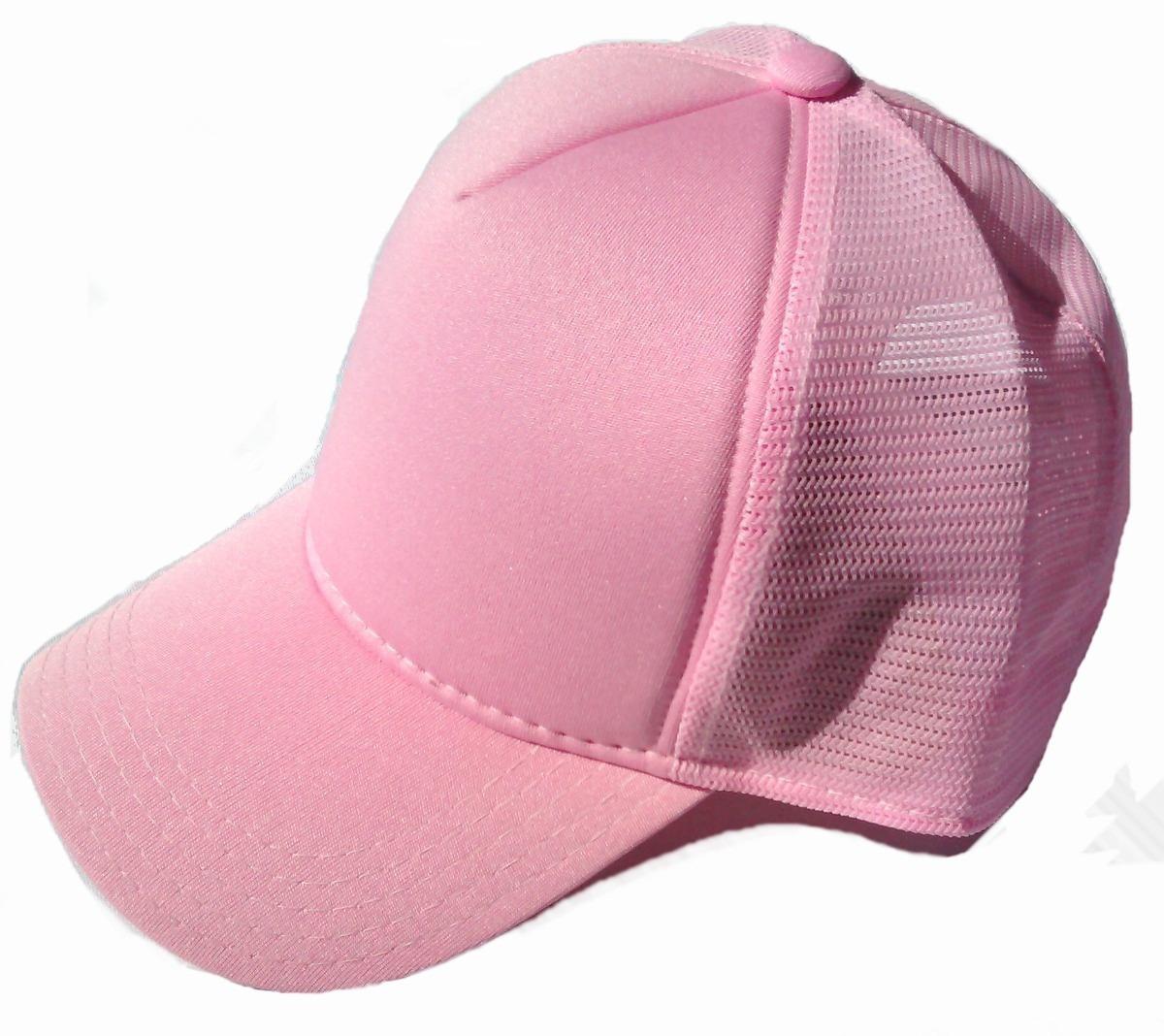 d4ab1c13e19ce boné rosa liso telinha trucker redinha snapback aba curva. Carregando zoom.