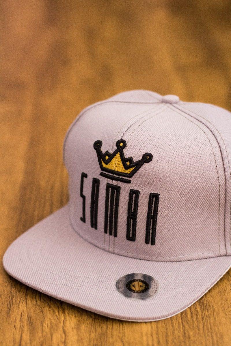Boné Samba - Aba Reta - Blog Do Cavaco - R  54 454e2038d36