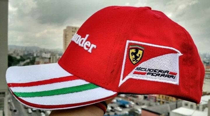 Boné Scuderia Ferrari Santander F1 Unisex A Pronta Entrega - R  59 ... bd67cb899de