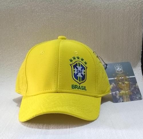 boné seleção brasil cbf futebol original fg