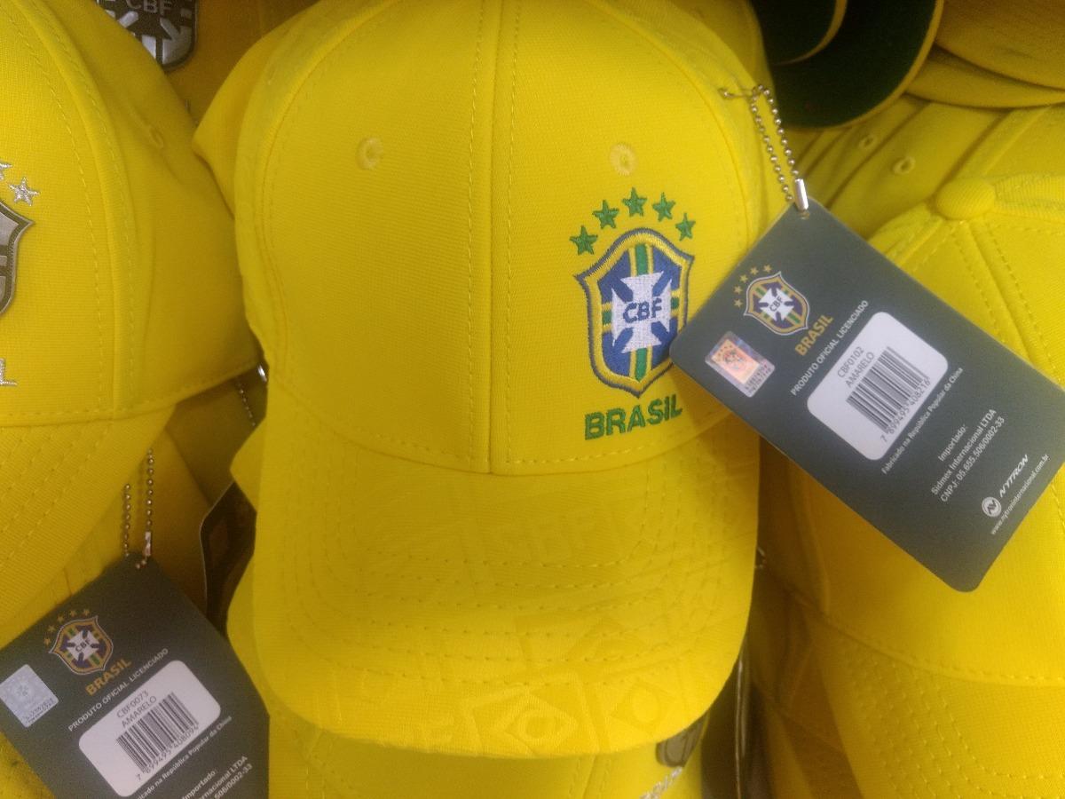 2dd48a215429d boné seleção brasileira oficial. Carregando zoom.