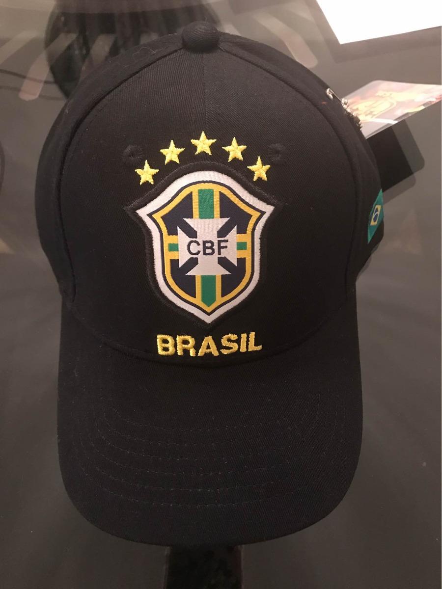589a4e4c4bd65 boné seleção brasileira preto bordado copa 2018. Carregando zoom.