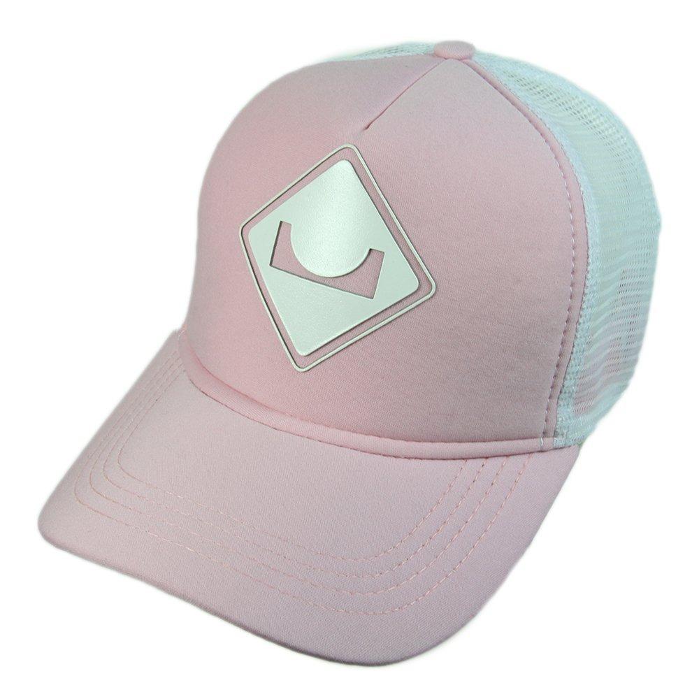 boné session logo classico snap back aba curva - rosa branco. Carregando  zoom. 5ee3ea34565