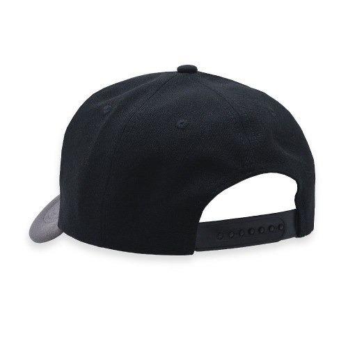 Boné Snapback Aba Curva Classic Hats Preto E Mescla Terra - R  53 2eaca2c39e3