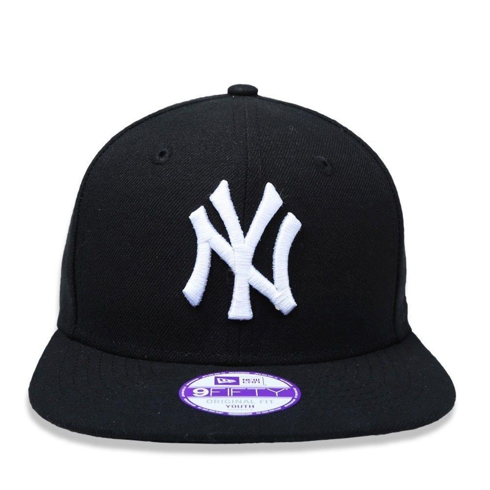 a4081073255be Boné Snapback New York Yankees New Era Bon245 - Preto - R$ 109,03 em ...