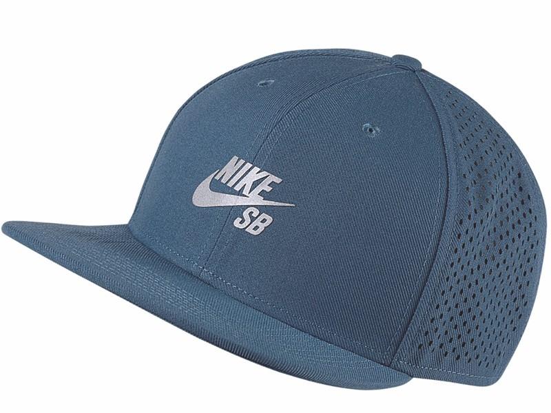Boné Snapback Nike Sb Performance Pro Trucker Blue 3ad25bf34e1