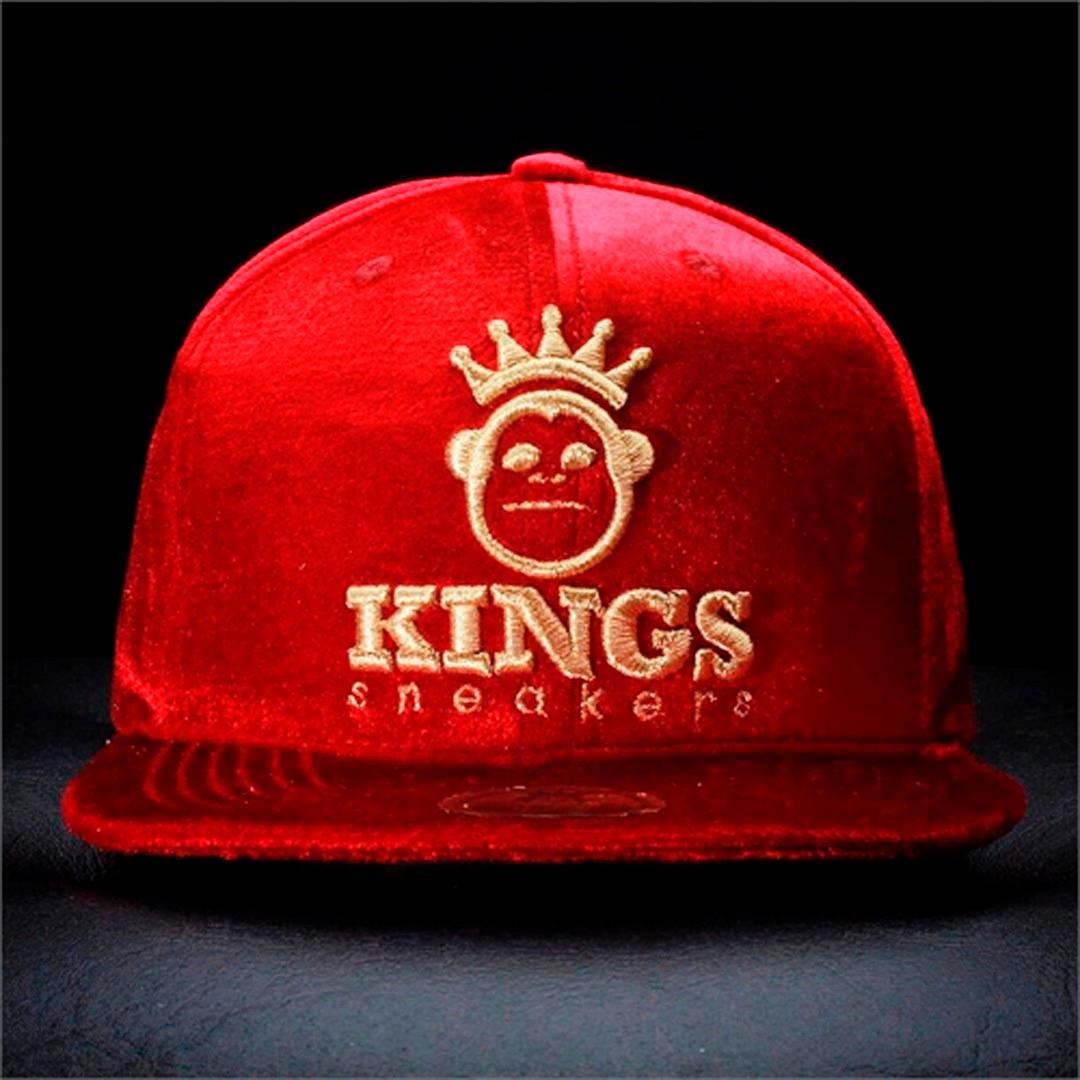 Boné Snapback Stars Aba Reta Kings De Camurça e88bcef185c