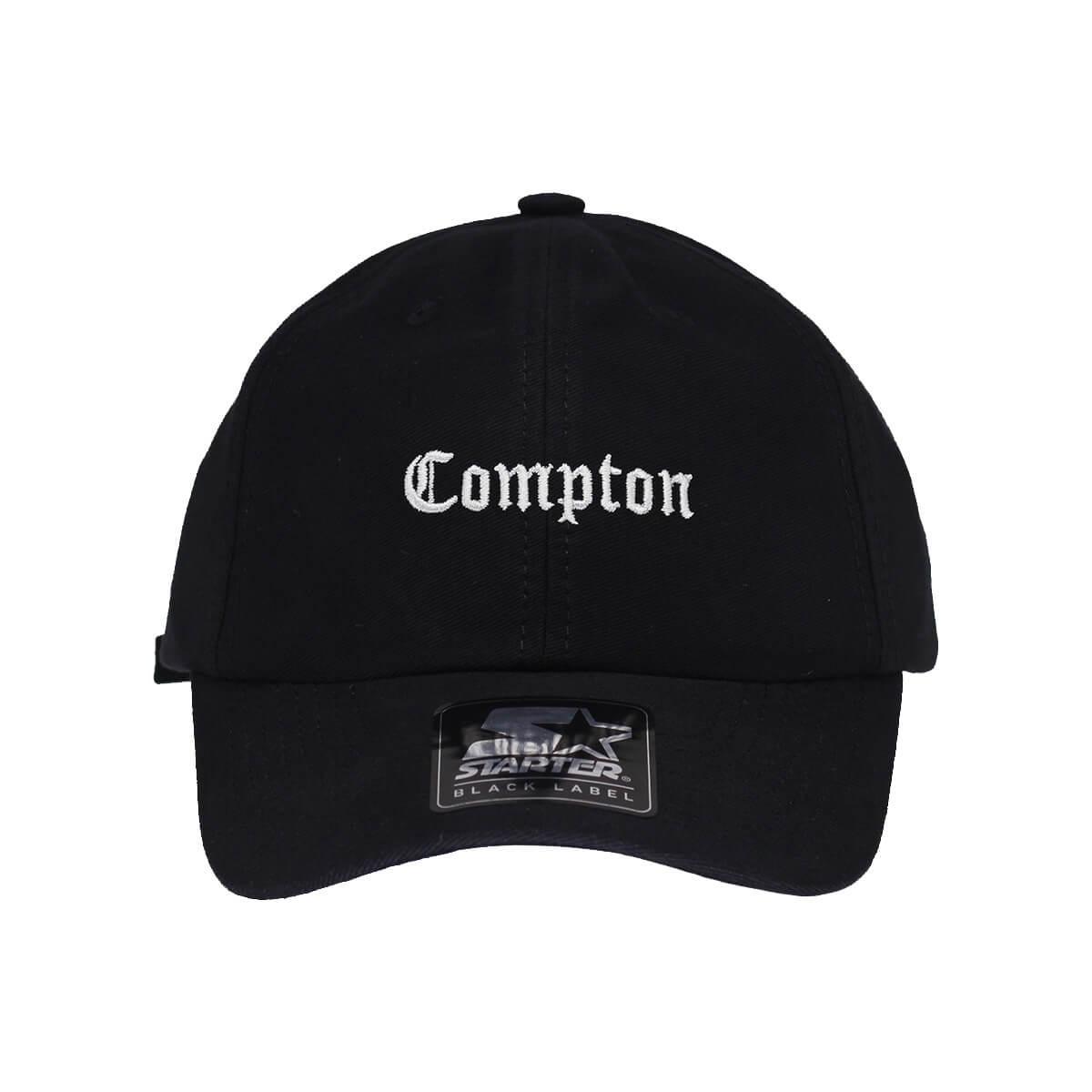 boné starter aba curva strapback compton preto  dad hats . Carregando zoom. d654185729b