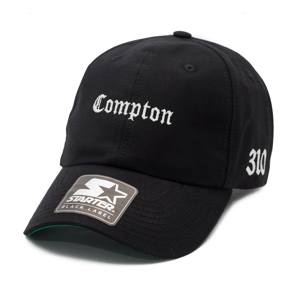boné starter aba curva strapback dad hat compton preto. Carregando zoom. dc44fac7131