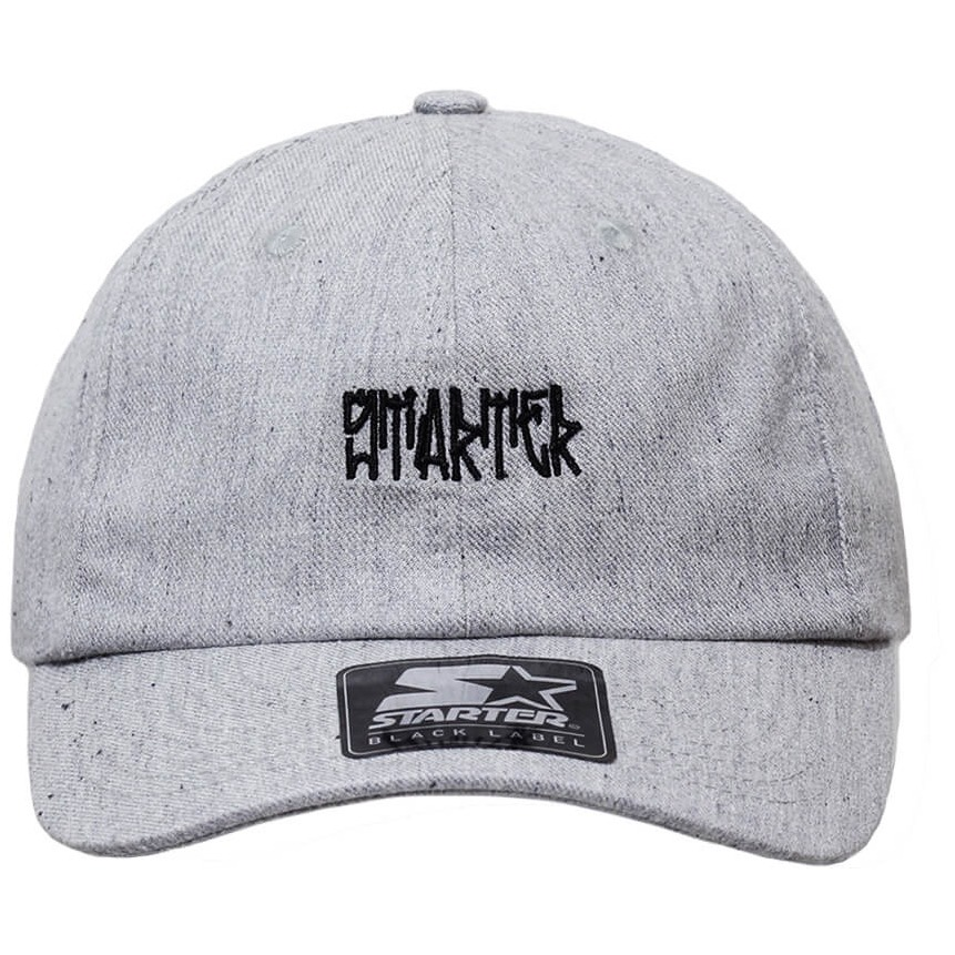 919f034af3fd0 Boné Starter Aba Curva Strapback Pixo Cinza  dad Hats  - R  99