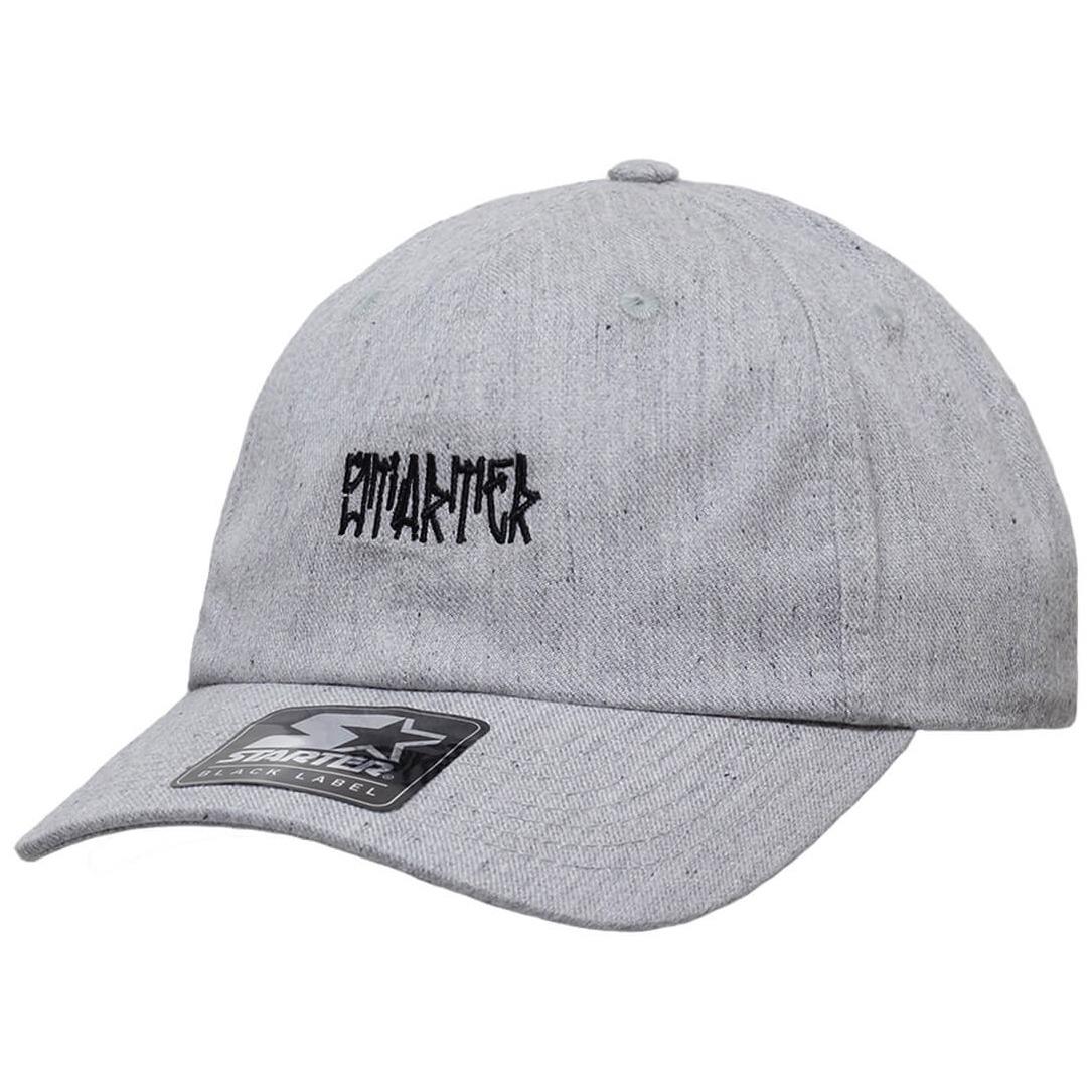 Boné Starter Aba Curva Strapback Pixo Cinza  dad Hats  - R  99 d0bcd1c74db