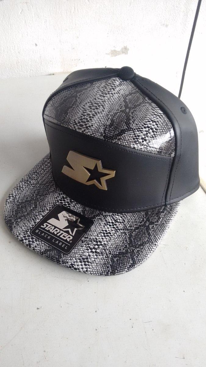 boné starter black label couro cobra. Carregando zoom. 08e064a475f