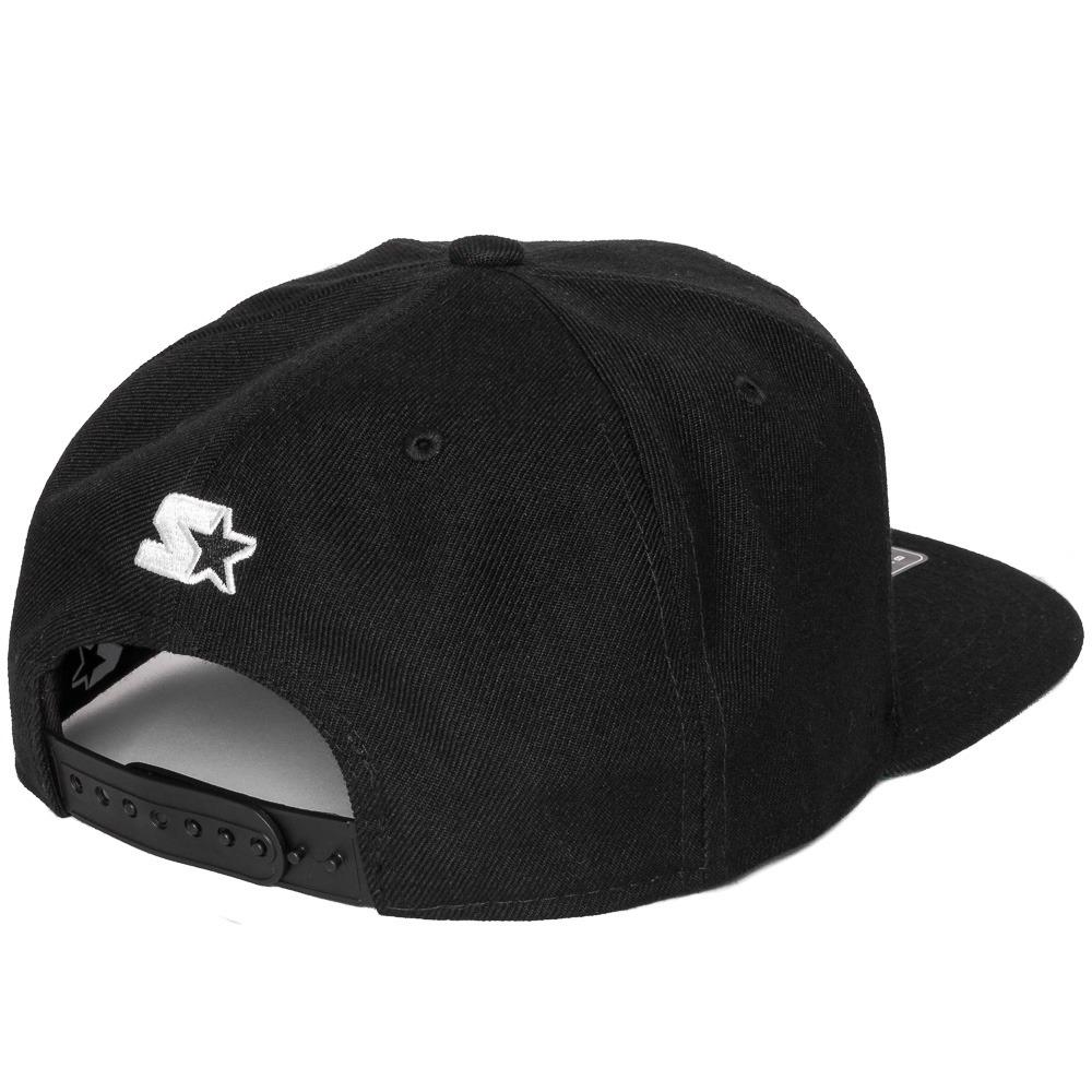 boné starter snapback arch logo black label preto. Carregando zoom. c3496eaf06a