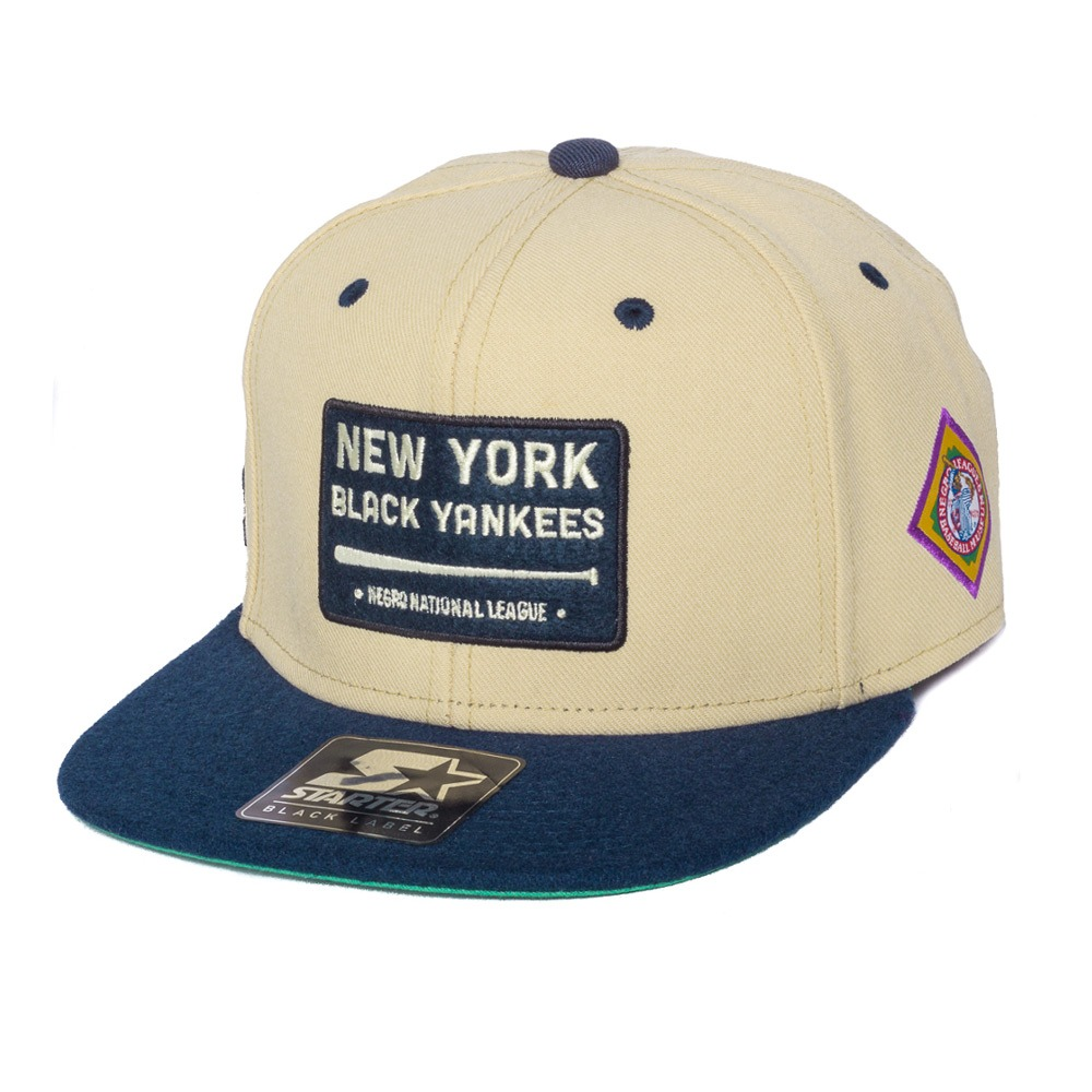 7fe50b1956185 boné starter snapback new york black yankees negro league. Carregando zoom.