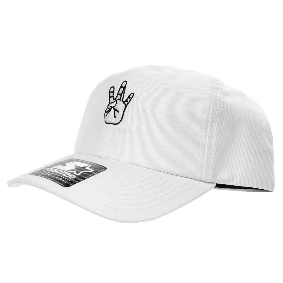 boné starter west coast strapback dad hat aba curva branco. Carregando zoom. 02de986808f