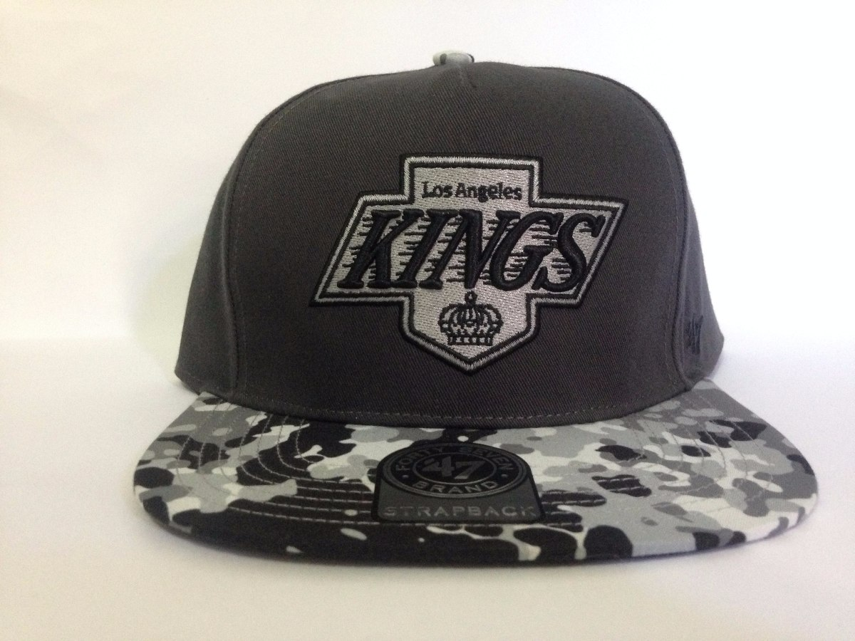 boné strapback 47 brand los angeles kings - original. Carregando zoom. dcf8f1df2d6
