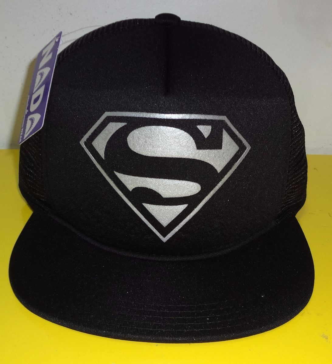 boné superman aba reta trucker cap tela. Carregando zoom. 6e1eb202e08