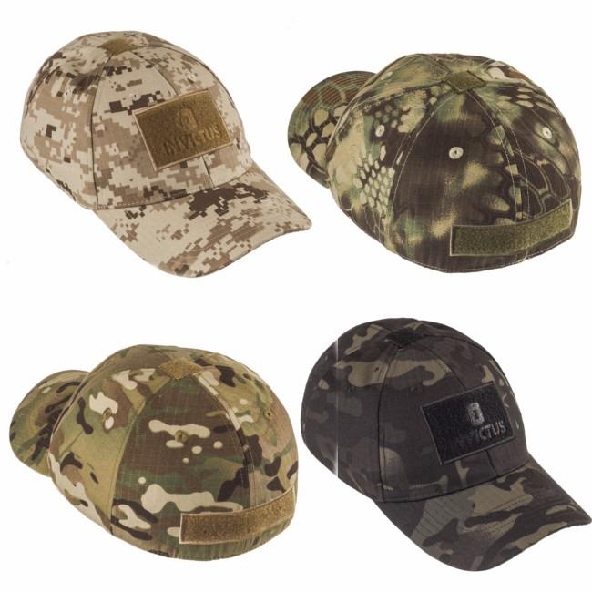 Boné Tático Invictus Trooper Militar Patch Camuflado - R  105 12a7166bedc