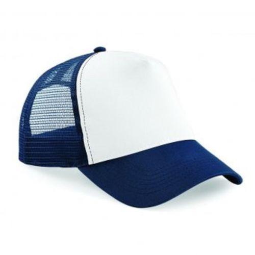 Boné Tela Redinha Frente Branco Telinha Azul Aba Curva Moda - R  39 ... 1b908b1a8e5