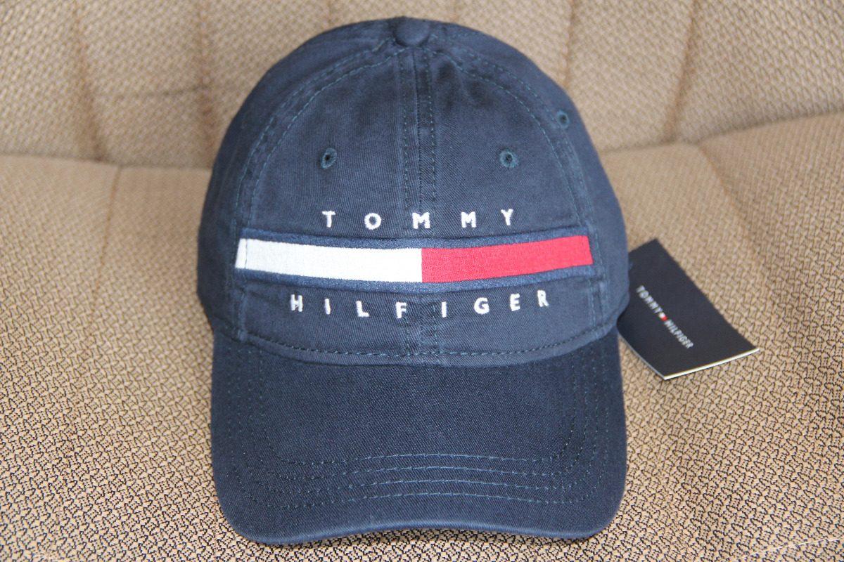 4d1cbc2eeed0a Bone- Tommy Hilfiger Tommy Hilfiger Horizontal Azul Marinho - R  199 ...