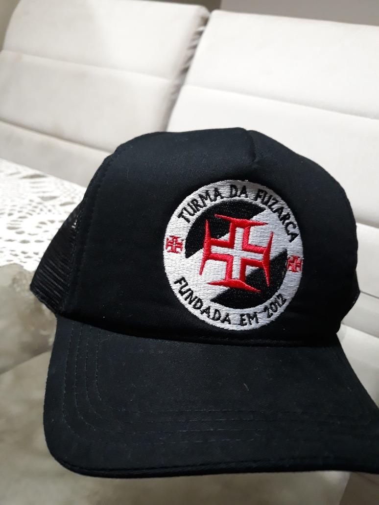 3d2df231cd33b9 Boné Torcida Turma Da Fuzarca - Vasco Da Gama - R$ 45,00 em Mercado ...
