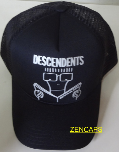 boné trucker cap descendents hardcore milo