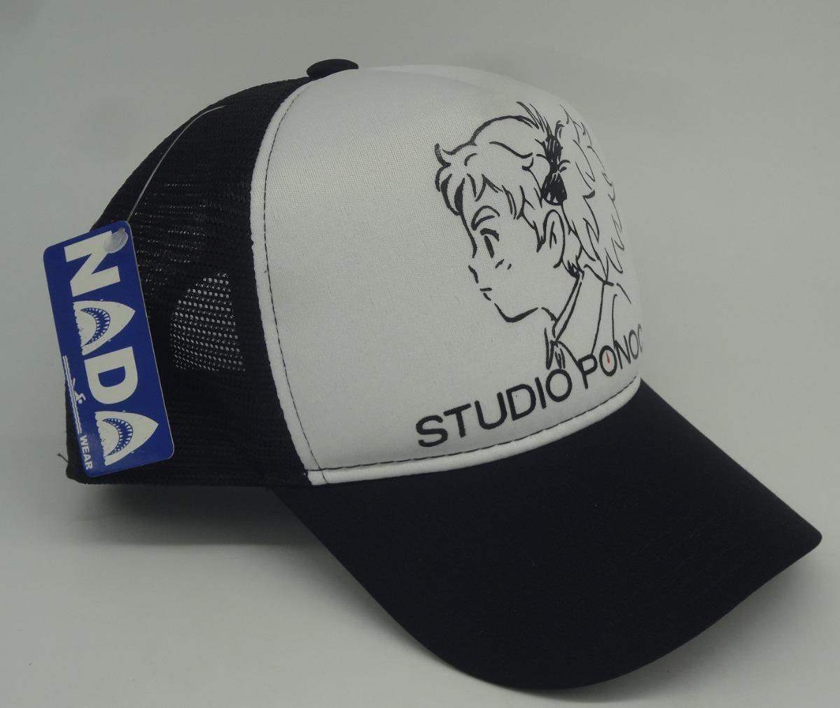 Boné Trucker Cap Studio Ponoc Anime Geek Otaku - R  46 4406bfe2b07