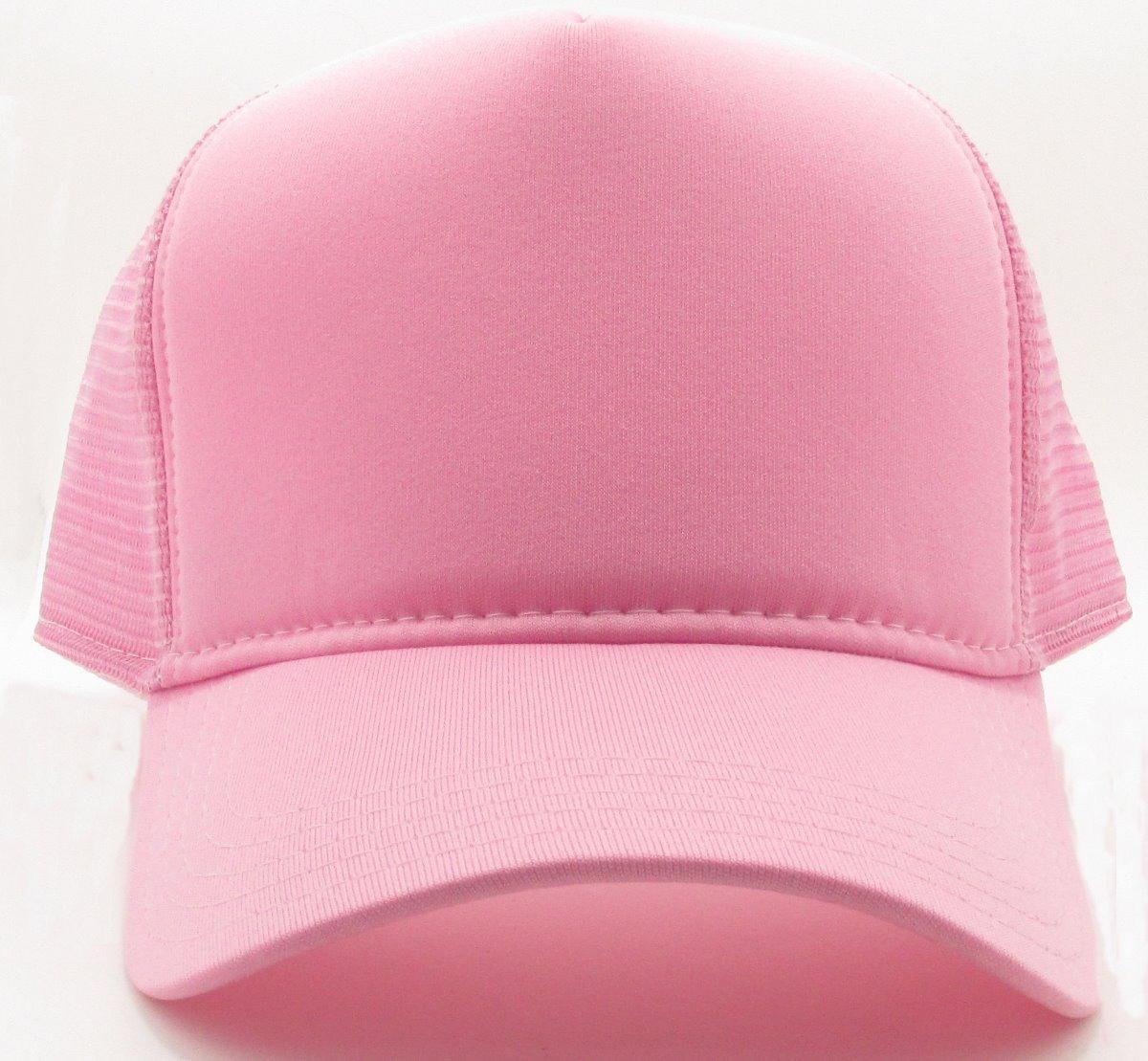 boné trucker de redinha snapback rosa liso telinha. Carregando zoom. ae7fc379a1a