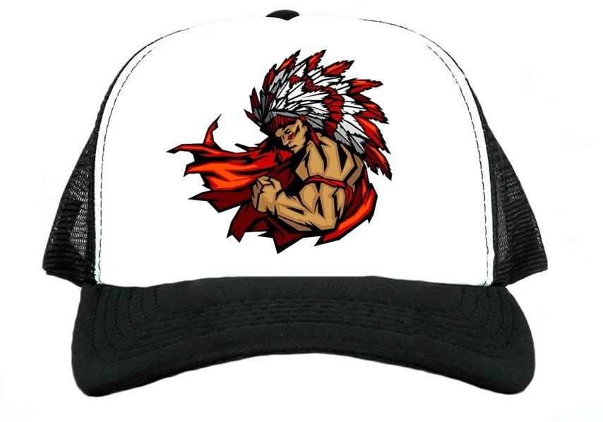 Bone Trucker Indio Americano Apache Promocao Lindo R 22 90 Em