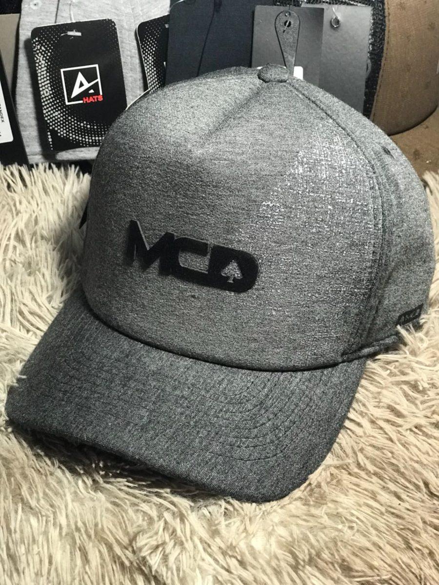 boné trucker mcd cinza escuro modelo 2018. Carregando zoom. 39f239fa32f