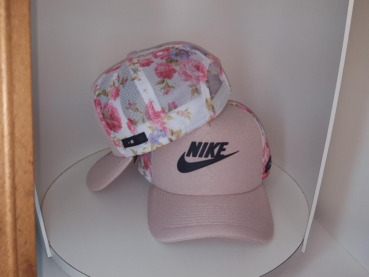 boné trucker nike sb telinha tela esporte floral rosa. Carregando zoom. 0578d9e195d