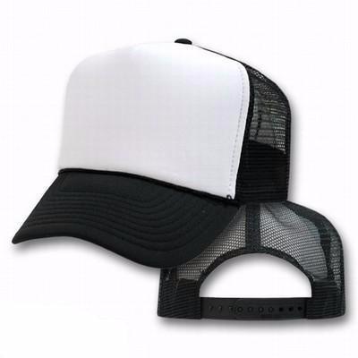 9c0cfc946a271 Boné Trucker Preto Com Branco- Justin Bieber Frete Gratis - R  49